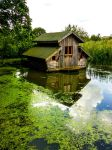 Little House on the lake by Fabharty