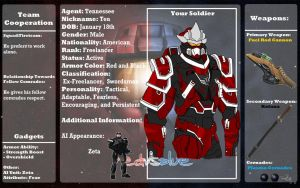 RvB OC: Agent Tennessee by Omnimon1996