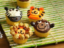 muffins animals by Selenaa-Gomez