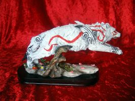 ---SOLD--- Customized Amaterasu Statue! by stephanie1600