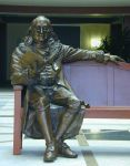 Franklin in Bronze. by dreamfloatingby