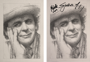 Drawing Doctor Who Project- Sylvester McCoy by Atarial