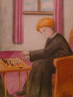 Check Mate by herminessa by HogwartsArt