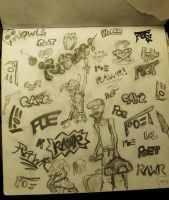 Rawr Page by Poet-Gambit