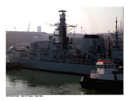 HMS Westminster by unclejuice
