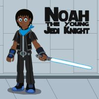 Noah the young Jedi Knight by MCsaurus