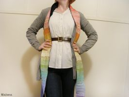 Rainbow scarf 2 by restlesswillow