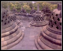 Borobudur Temple by freestyler-rmg