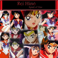 Sailor Mars Collage by Strawberry-of-Love