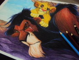 Uncle Scar by RafaConte