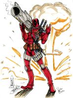 Deadpool Danger Duh by Walter-Ostlie