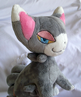 Edited Glameow Plush by xSystem