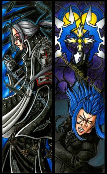 Abel and Saix Bookmarks by psycrowe