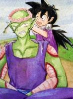 Goten and Piccolo #245 by Eiki331