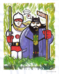 Bluntman and Chronic - Colouring Contest by ozwalled