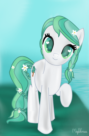 Am I cute? :3 (Contest Entry) by Magdahorses