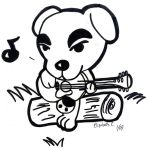 Animal Crossing: K.K. Slider by LizDraws