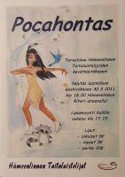 Pocahontas ice show banner by IdaBlack