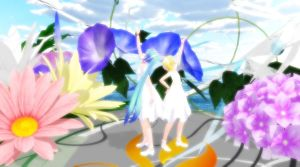 MMD Romeo and Cinderella xD [Miku and rin ] xD by Helly-Chan135