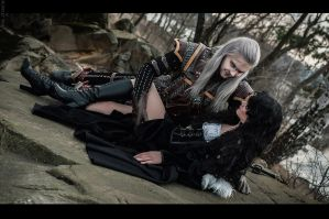 The Witcher - Geralt and Yennefer by GreatQueenLina