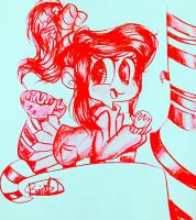 Red Vanellope by 8AUS