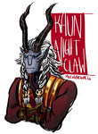 Kaun Nightclaw by bowlersandtophats