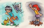 PKMN BA: The Chase by OneWingedMuse