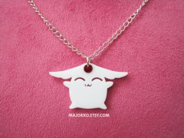 Mokona Necklace by aeiny