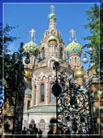 Church of the Savior on Blood by maska13