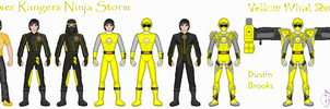 Yellow Ninja by Ameyal