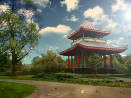 Chinese Pavilion by rezzmarr