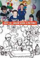The 30 day drawing challenge - draw over a picture by Duhduch