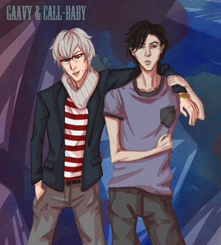 Gaavy + Call-baby by shany