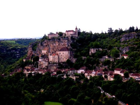 Rocamadour by Cazzoid