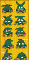 Yabukuron Expressions 5 by Fishlover
