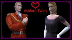 The Ashford Twins by cellamare