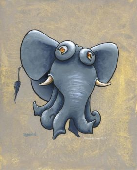 Octophant by MegLyman