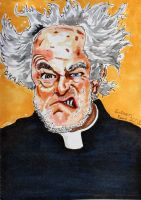 The Great Philosopher Father Jack Hackett by EverettReno