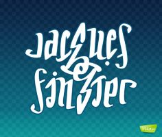 Jacques Finster - Ambigram by acmelabs