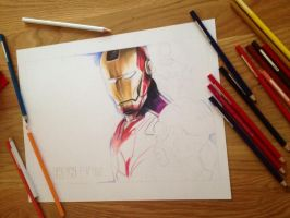 Iron Man WIP by al-turnertive