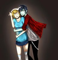 Im scared Marshall Lee by Cheese3D