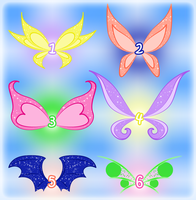 SOLD: Adoptable Magic Winx wings set 2 by CharmedWings