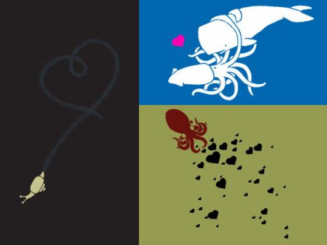 Cephalopods T Shirt Designs by curiouszoology