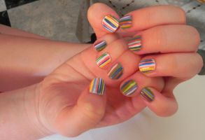 31 day Challenge: Day 12 Stripes by riorval