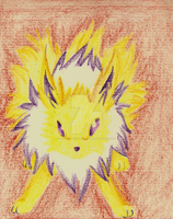 Crayon - #165 Jolteon by DannyP514