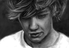 Liam Payne drawing by Bluecknight