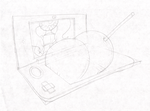 TinyKongBootyStickingOutFrom3DS.Sketch. by Virus-20