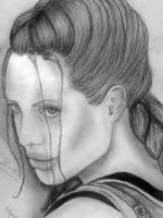 Angelina jolie by luciferFlash