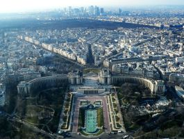 PXN - Paris view from the top by phanxine