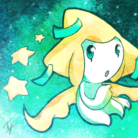 Jirachi by Typhlo